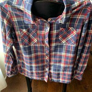 Naturals Reflections Plaid Button Shirt